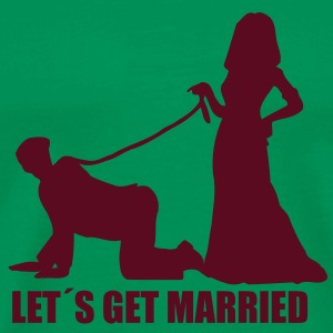 Let s get married - Men's Premium T-Shirt