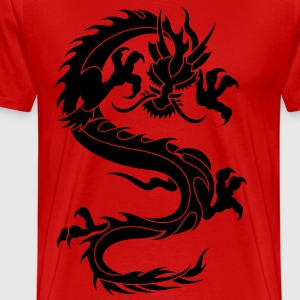 chinese dragon tribal T-Shirts - Men's Premium T-Shirt