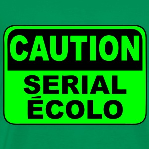 caution serial ecolo Tee shirts - T-shirt Premium Homme