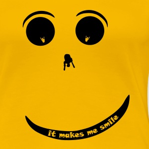 Paraglider Smiley T-Shirts - Women's Premium T-Shirt