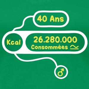 40 ans kcal calories consommees Tee shirts - T-shirt Premium Femme