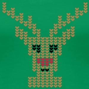 Rudolph | Rudolf | rote Nase | red nose | Rentier | Rendeer T-Shirts - T-shirt Premium Femme