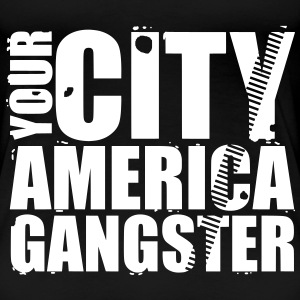 your city america gangster T-shirts - Premium-T-shirt dam