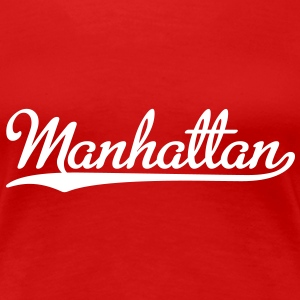 Manhattan T-Shirt - Frauen Premium T-Shirt