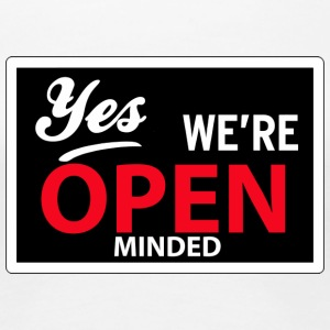 yes we are open minded Koszulki - Koszulka damska Premium