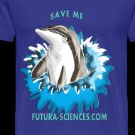 Motif ~ Save dauphin homme bleu marine