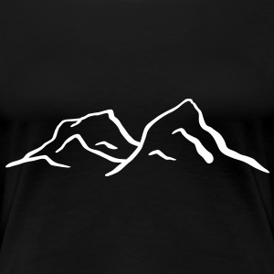 Mountains T-Shirts - Women's Premium T-Shirt