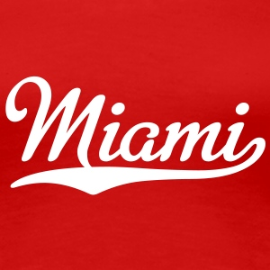 Miami T-Shirt - Frauen Premium T-Shirt