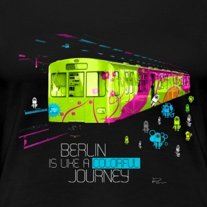 Berlin is like a colorful journey T-Shirts - Frauen Premium T-Shirt