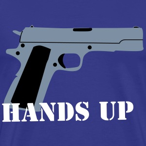 Hands Up Shirt Herre-T-shirt klassisk - Herre premium T-shirt