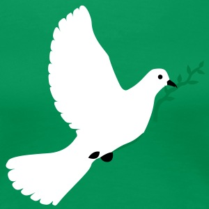 DOVE OF PEACE - Women's Premium T-Shirt