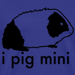 i pig mini shirt, guinea pig  - Men's Premium T-Shirt