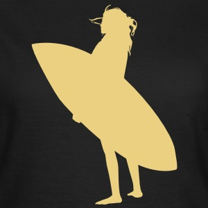 Surfer Babe (Surf Shirt) - Frauen T-Shirt