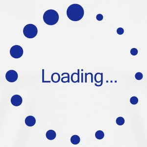 loading_circle T-shirts - Mannen Premium T-shirt