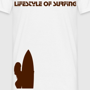 Lifestyle of Surfing! (Surf Shirt) - Männer T-Shirt