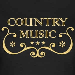 Country Western Music * Folk Rock Music Old Style T-shirts - Vrouwen T-shirt