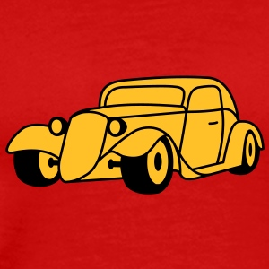 2 colors - Hot Rod Oldtimer Custom Cars Automobil Tuning T-shirt - Maglietta Premium da uomo