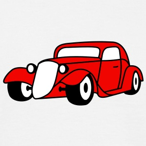 3 colors - Hot Rod Oldtimer Custom Cars Automobil Tuning T-shirt - Maglietta da uomo