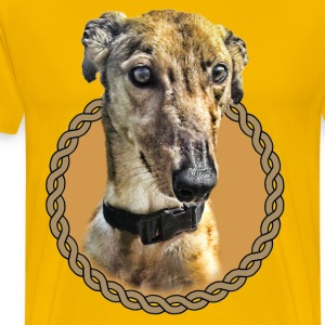 Greyhound 001 T-Shirts - Men's Premium T-Shirt