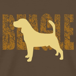 beagle - Men's Premium T-Shirt