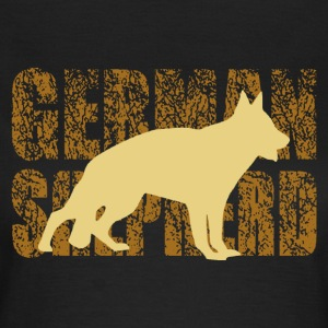 german shepherd - Frauen T-Shirt