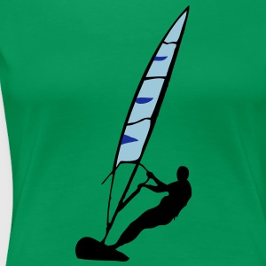 Windsurfing T-Shirts - Frauen Premium T-Shirt