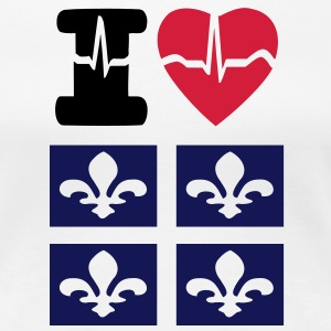I LOVE QUEBEC - Women's Premium T-Shirt