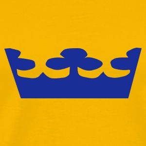 Swedish Crowns, Sweden, Kronen, Crowns, Sverige, www.eushirt.com T-shirts - Herre premium T-shirt
