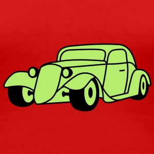 2 colors - Hot Rod Oldtimer Custom Cars Automobil Tuning T-shirt - Maglietta Premium da donna