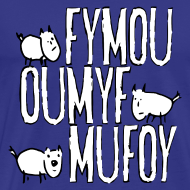 Motiv ~ Drei Freunde Fymou, Oumyf und Mufoy