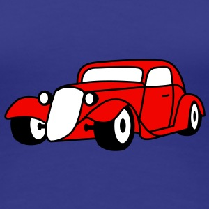 3 colors - Hot Rod Oldtimer Custom Cars Automobil Tuning T-shirt - Maglietta Premium da donna
