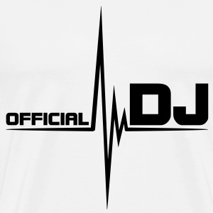 official_dj T-shirts - Herre premium T-shirt