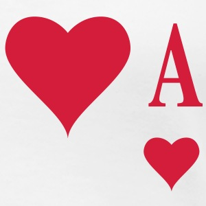 Herz Ass | Heart Ace | ace of hearts | A T-Shirts - Maglietta Premium da donna