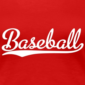 Baseball T-Shirt - Frauen Premium T-Shirt