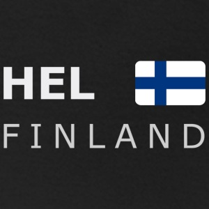 Women's T-Shirt HEL FINLAND white-lettered - T-shirt dam