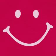 Motiv ~ Schwangershirt: Smiley (pink/rosa)