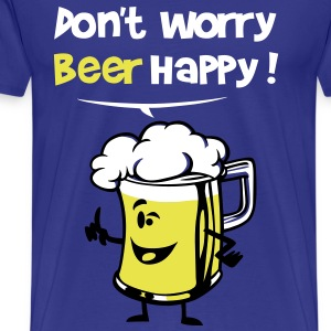 Beer happy ! - Men's Premium T-Shirt