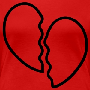 Heart Broken T-Shirts - Women's Premium T-Shirt