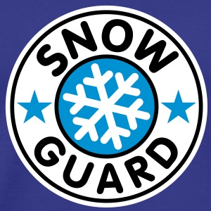 Snow Guard | Schnee Wache T-Shirts - Premium T-skjorte for menn
