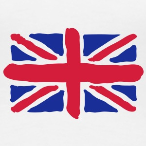 UK | GB | Union Jack | Art T-Shirts - Koszulka damska Premium