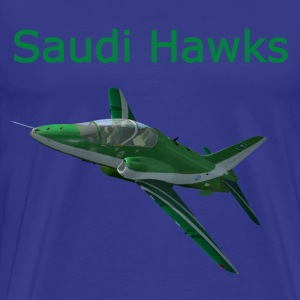 Saudi Hawks aerobatic team shirt - Men's Premium T-Shirt