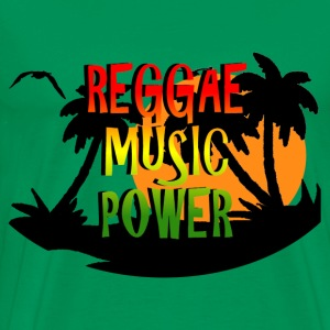 reggae music power T-Shirts - Men's Premium T-Shirt