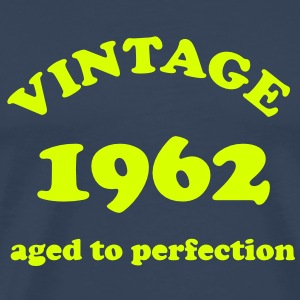 Vintage 1962 aged to perfection - Mannen Premium T-shirt