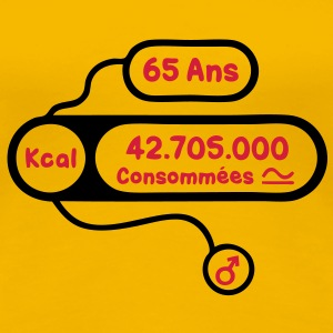 65 ans kcal calories consommees Tee shirts - T-shirt Premium Femme
