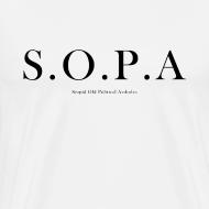 Design ~ SOPA Funny T-Shirt