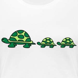 turtle_family Tee shirts - T-shirt Premium Femme