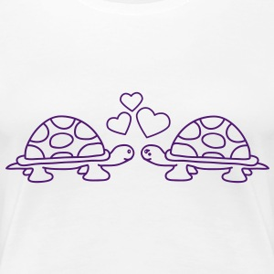 turtles_in_love T-shirt - Maglietta Premium da donna