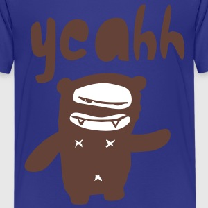 yeahh bear. Kinder shirts - Teenager Premium T-shirt