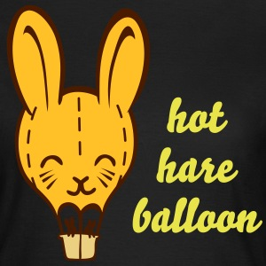 Hot Hare Balloon - Women's T-Shirt