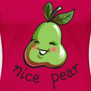 Nice Pear - Girls Shirt Plus size version - Women's Premium T-Shirt